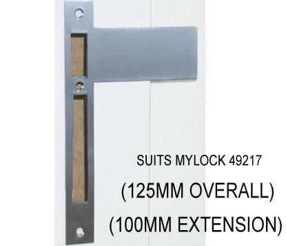 Austyle - Extended Striker Plate - Suit Roller Lock 125mm
