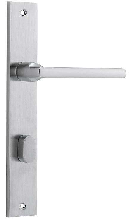iver - Baltimore Door Lever - Rectangular - Privacy