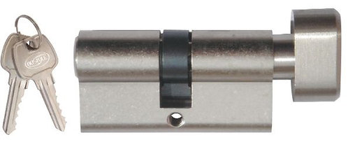 Austyle / Superior Brass - Double 6 Pin Key/Turnthumb Euro Cylinder L70mm