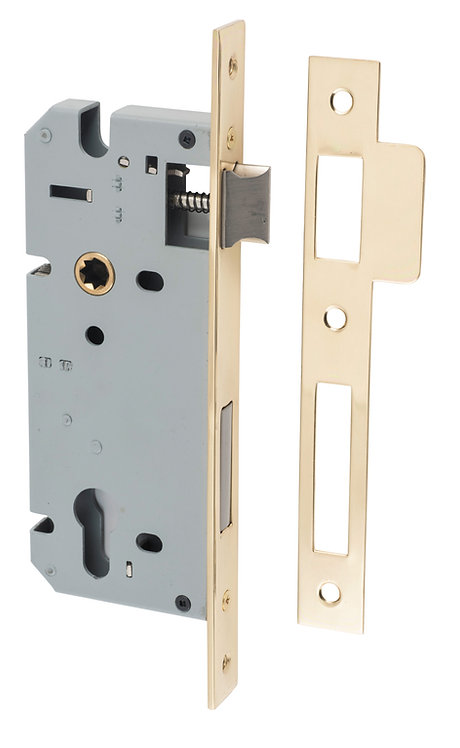 Tradco - External Mortice Lock - 85mm Euro B45mm