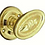 Thumbnail: Superior Brass - Art Nouveau Door Knob - Round Rose