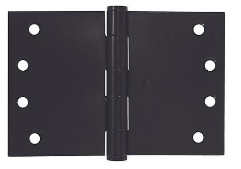 Austyle - Hinges - Broad Butt - Matt Black H100xW125/150/175/200mm (Pair)
