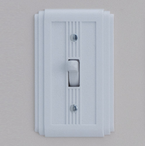 Classic Electric - 60 Series - Art Deco Style - Single Gang Bakelite Switch