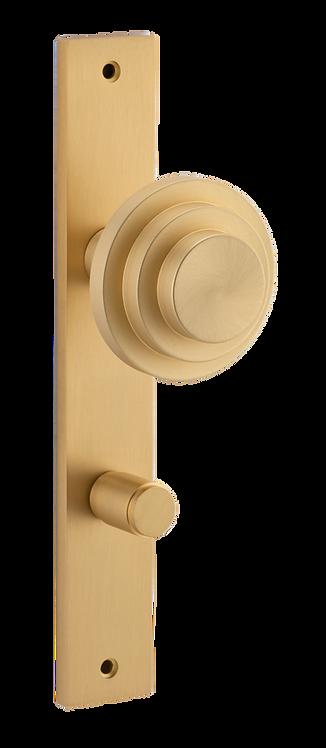 Bankston + Sans Arc - Zzzigurat Door Knob - Rectangular - Privacy