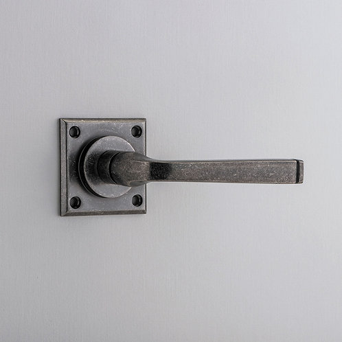 Bankston - Annecy Door Lever - Chamfered Square Rose