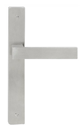 Austyle - 316 Stainless Door Lever Range - Flat Thick Long Plate - All Variants