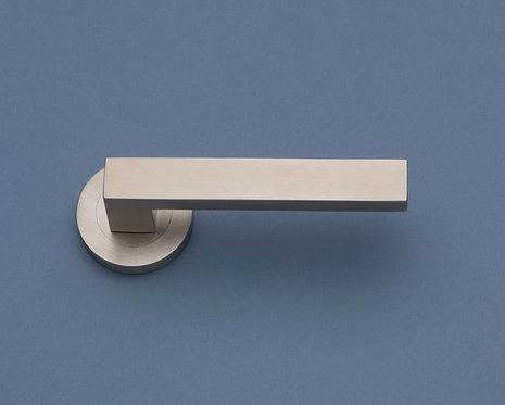 BlueSpec - Ashlar Stainless Steel Door Lever - Round Rose D52mm
