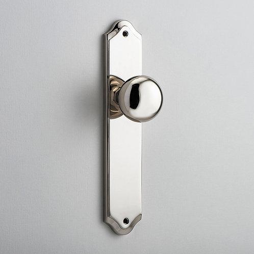 iver - Cambridge Door Knob - Shouldered - Latch