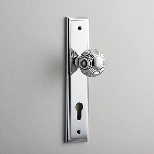 iver - Guildford Door Knob - Stepped - Euro