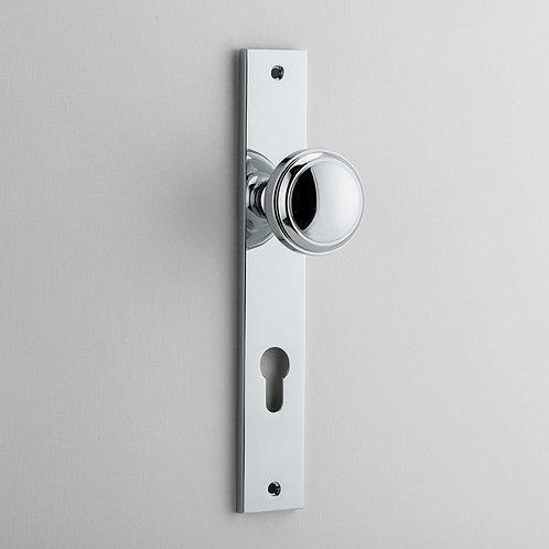 iver - Paddington Door Knob - Rectangular - Euro