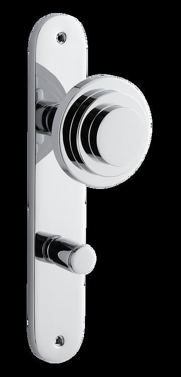 Bankston + Sans Arc - Zzzigurat Door Knob - Oval - Privacy