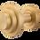 Thumbnail: Bankston + Sans Arc - Zzzigurat Door Knob - Round Rose