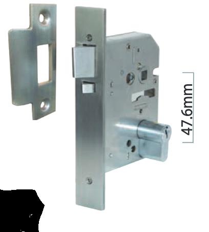 Austyle - Commercial Security Dead Latch Escape Release Lock - Euro B60mm