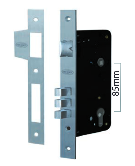 Austyle - Residential Security External Lock - 85mm Euro B60mm