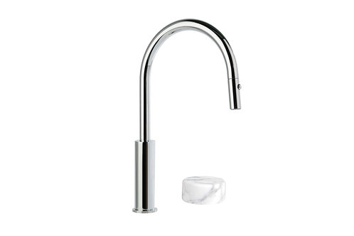 Brodware - Halo Marble - Kitchen Mixer Set Pull-Out Spray 1.9507.94.6.01