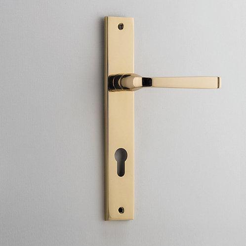 Bankston - Annecy Door Lever - Rectangular - Euro