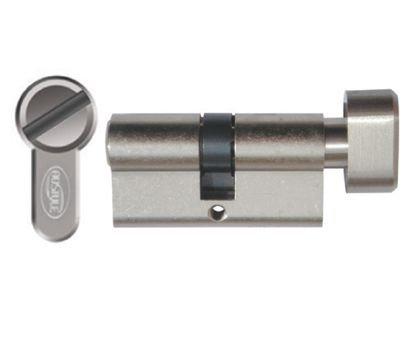 Austyle / Superior Brass - Privacy Turn & Release Double Euro Cylinder L65mm