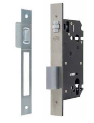 Austyle - Security Roller Latch & Dead Bolt Lock - 304 Stainless Steel B60mm