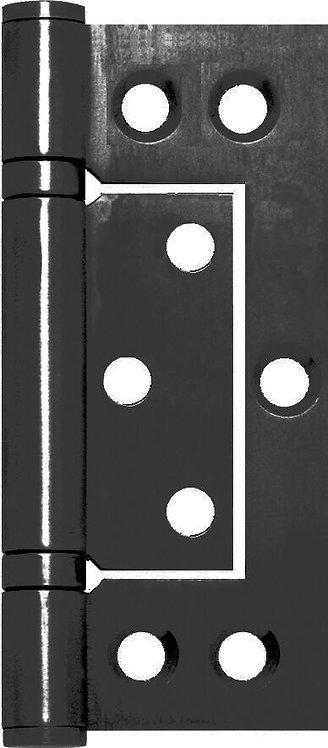 Austyle - Hinges - Hirline Ball Bearing - Matt Black H100xW47mm (Pair)