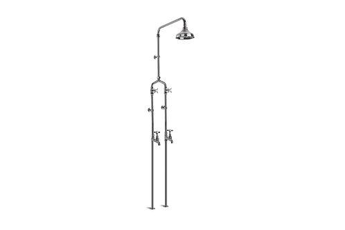 Brodware - Neu England - Floor Mount Exposed Bath/Shower Set 1.8017.02.1.01