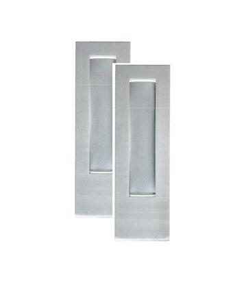 Austyle - Sliding Door Flush Pull with Bottom Lip - Rectangle - H220xW55x10mm