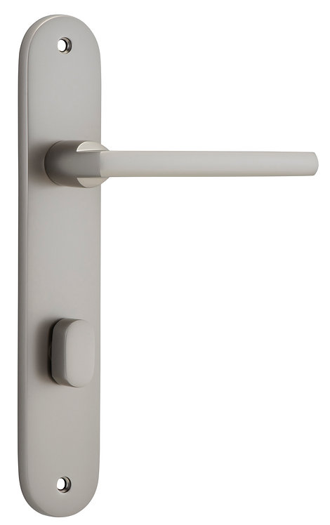 iver - Baltimore Door Lever - Oval - Privacy