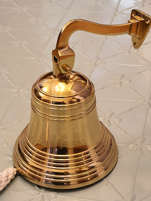 Superior Brass - Authentic Old English Ship Bells - Classic Tone