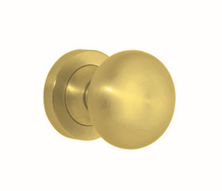 Austyle - Contemporary Range - Naomi Door Knob - Round Rose