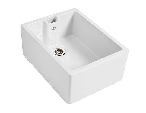 1901 Sinks - Belfast Fireclay Sink 595x455x250mm
