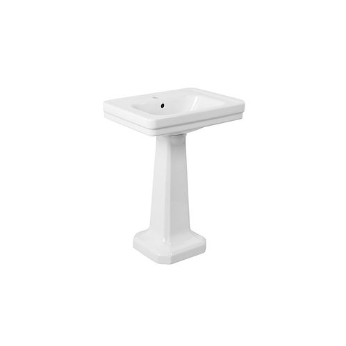 Brodware - Classique - Basin & Pedestal 590mm x 500mm 1.8790.00.1.90