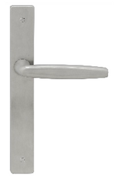 Austyle - 316 Stainless Door Lever - Contemporary Long Plate - All Variants