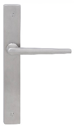 Austyle - 316 Stainless Steel Door Lever - Flat Edged Long Plate - All Variants