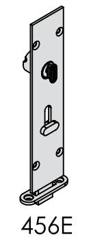 Brio - 456E Lockable Flush Reverse Barrel Bolt - Squared 190, 450mm