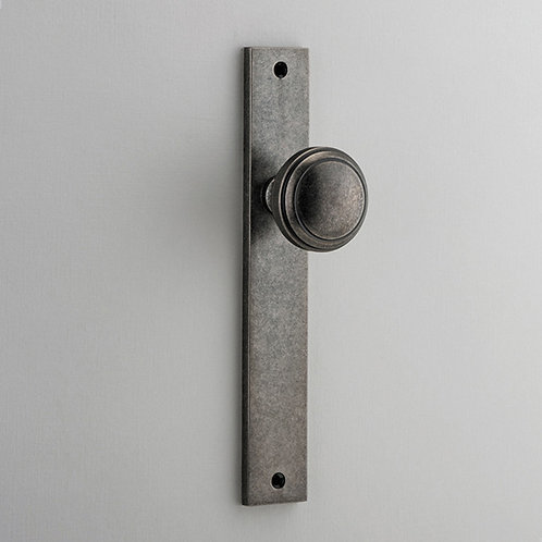iver - Paddington Door Knob - Rectangular - Latch