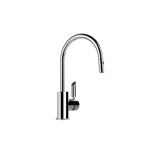 Brodware - City Plus Lever - Kitchen Mixer with Pull-Out Spray 1.9708.04.3.01