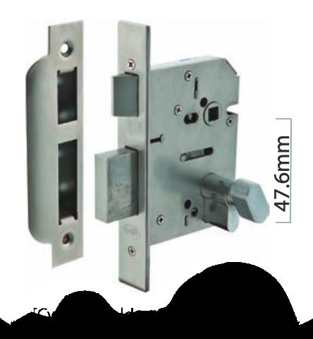 Austyle - Residential Security External Lock - Euro B45mm