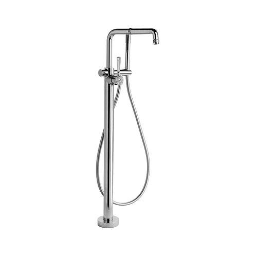 Brodware - Industrica - Floor Mount Bath Mixer with Hand Shower 1.6708.08.0.01