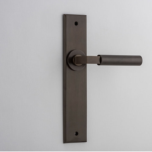 Bankston - Berlin Door Lever - Chamfered - Latch
