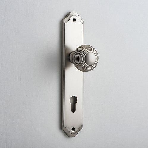 iver - Guildford Door Knob - Shouldered - Euro