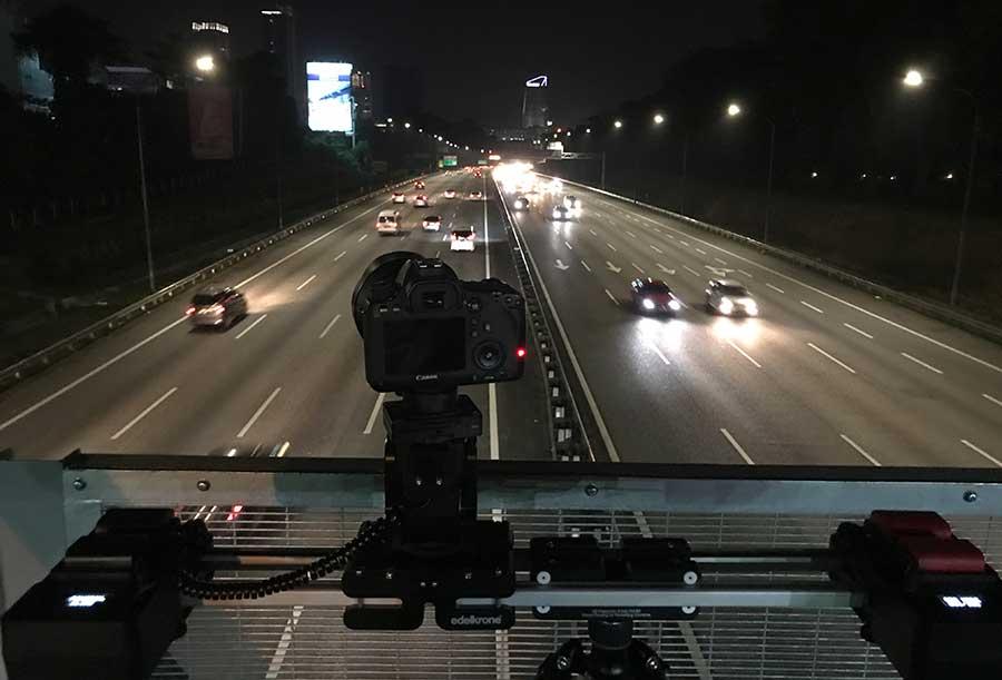 on a Highway Bridge @ Malaysia - Holger Kleine