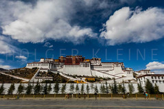 The Potala Palace in Lhasa, Tibet