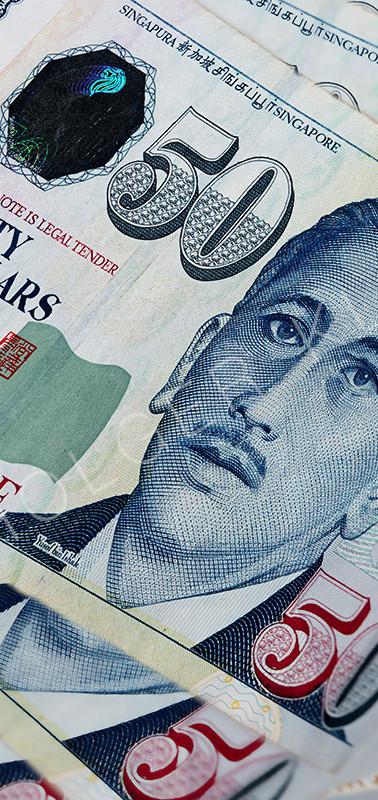 Fan of 50 Singapore dollar.