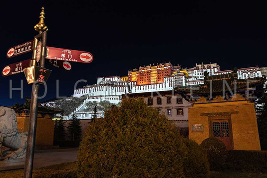 The Potala Palace in Lhasa, Tibet, China
