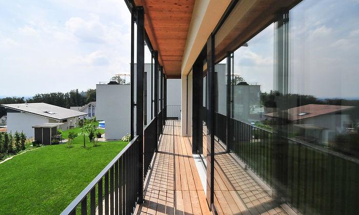 Einfamilienhaus Neubau an Hanglage. Architektur EpprechtArchitekten AG Aarburg & Olten.
