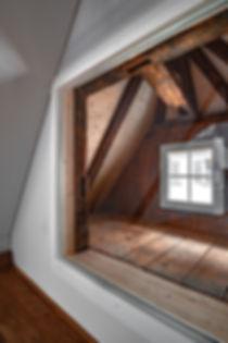 Gaube, Dachraum in historischer Altstadt Aarau, EpprechtArchitekten Aarburg, Architektur Olten .jpg