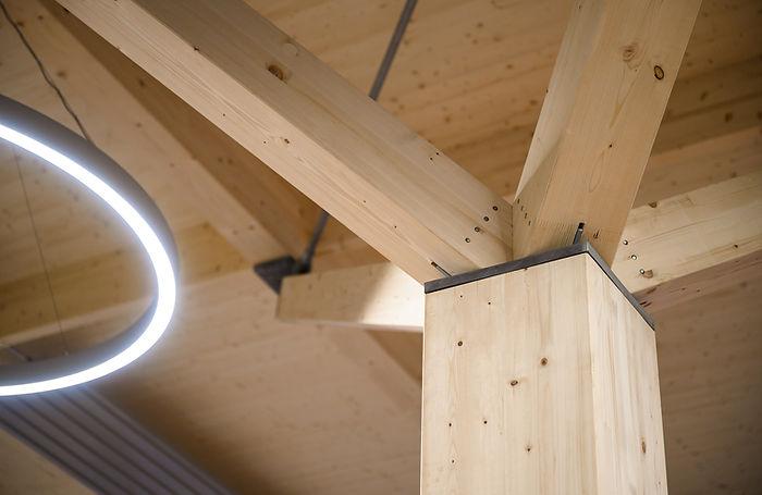 holzelementbau, tragstruktur, beleuchtung, kostruktion, architektur, holzbau