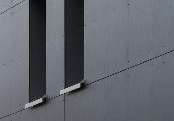 Holzelementbau mit Eternitfassade, Architekturbüro Aarburg