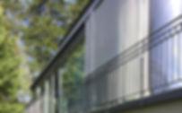 Anbau mit gerundeter Glasfront schöftland Aargau