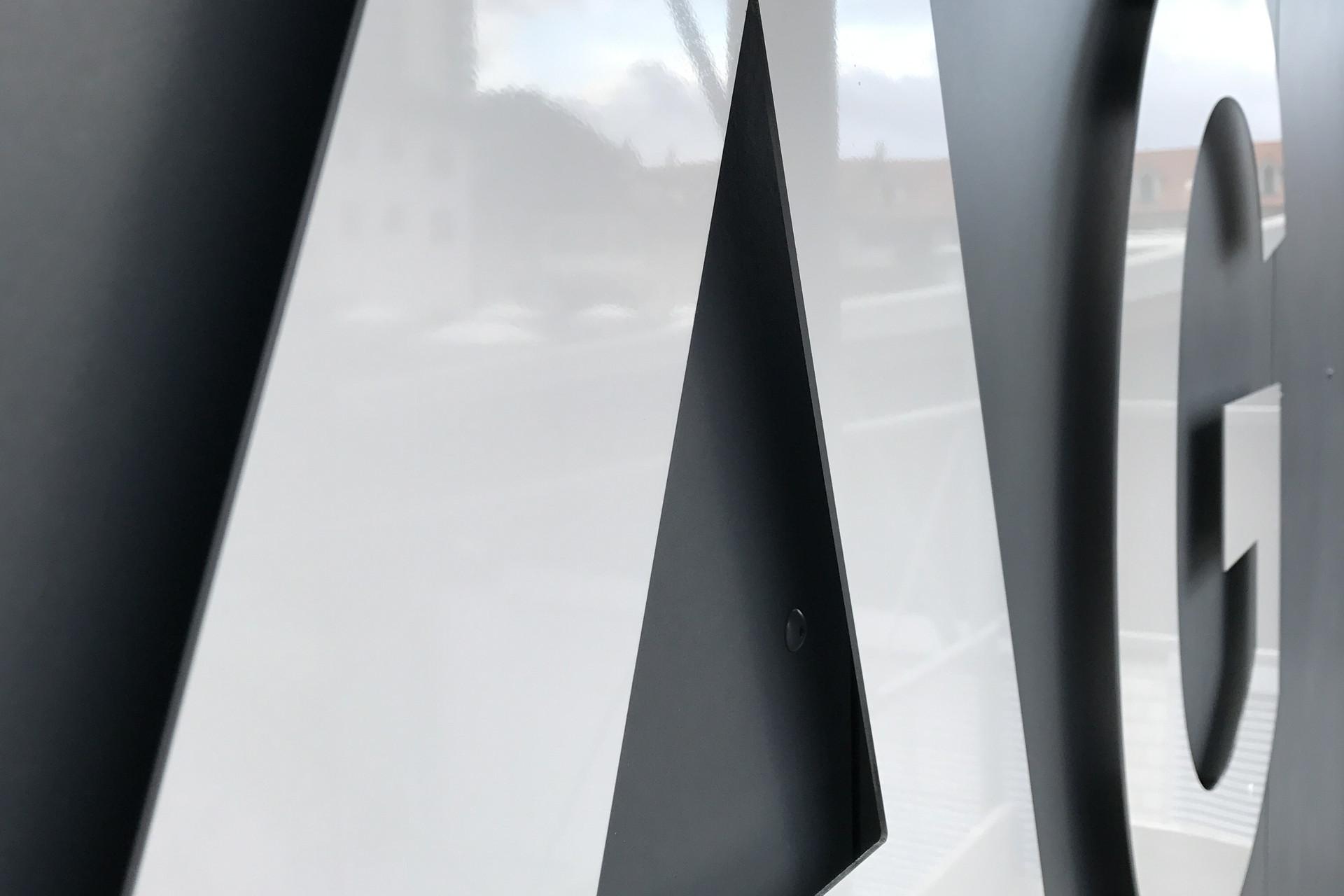 Fassadenbeschriftung Hans Blattner AG, Aarburg 2017