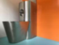 Jugendheim Aarburg, Wohntrakt. sanierung der Zimmer Zugänge und des Treppenhauses. AIDO Farbkonzept und Architektur, EpprechtArchitekten Aarburg